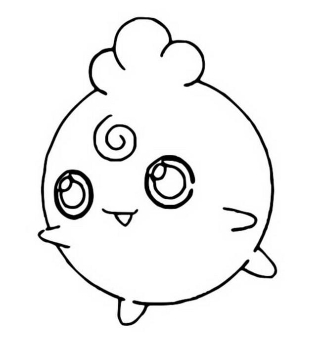 Coloriages Pokemon Toudoudou Dessins Pokemon