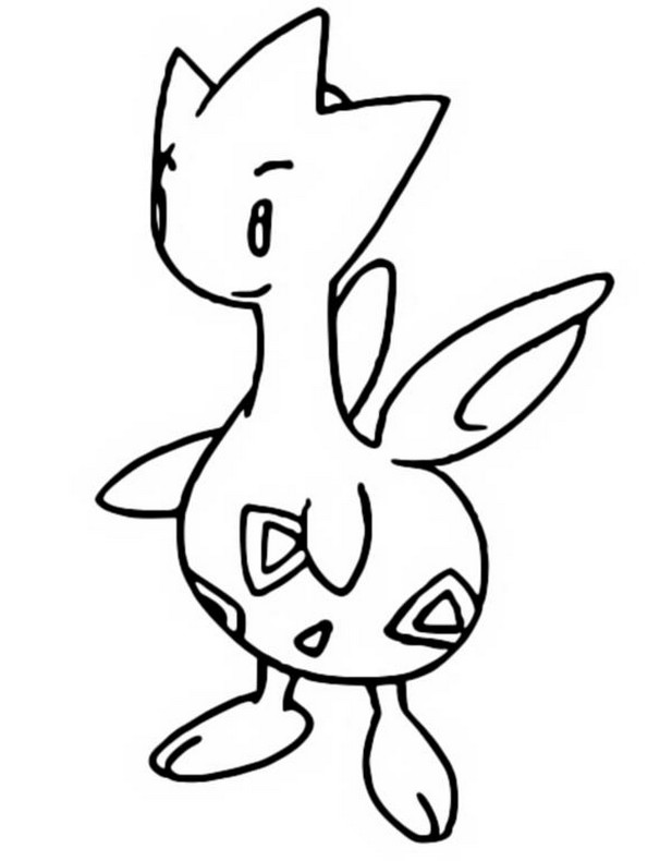 Coloriages Pokemon - Togetic - Dessins Pokemon