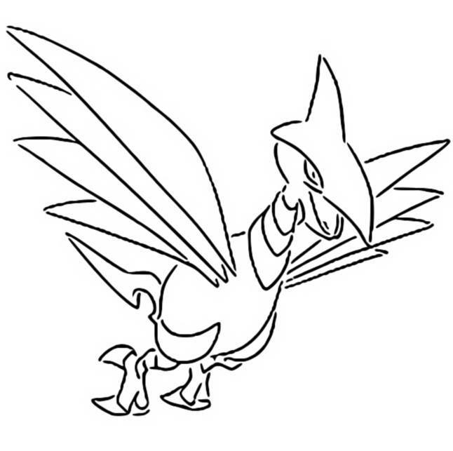 Coloriages Pokemon - Airmure - Dessins Pokemon