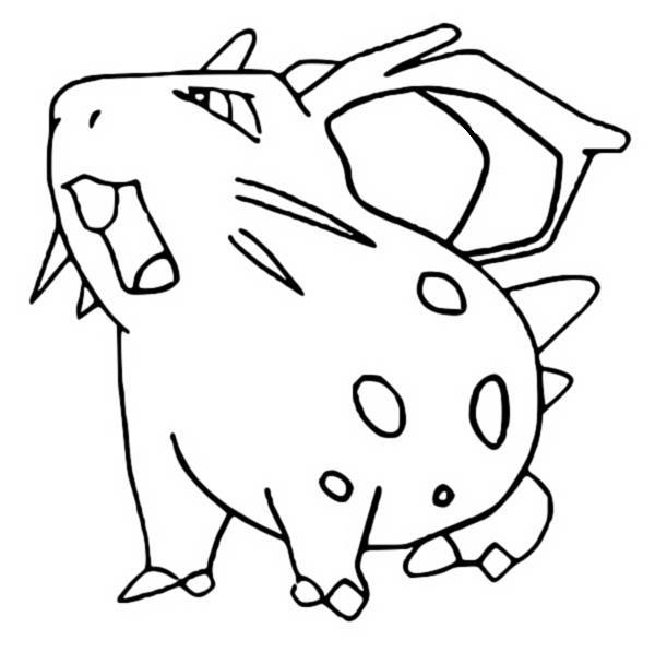 Coloriages Pokemon Nidoran F Dessins Pokemon