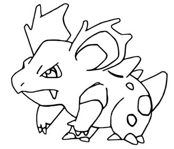Coloriages Pokemon - Nidorina - Dessins Pokemon