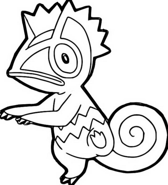 Coloriages Pokemon Kecleon Dessins Pokemon