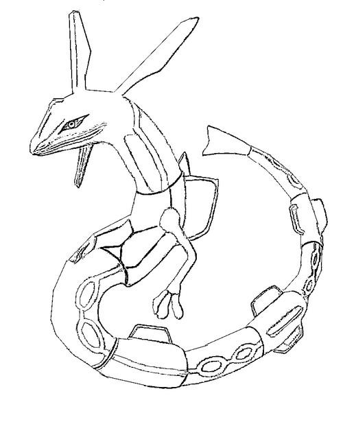 Pokemon mega kyogre coloring pages
