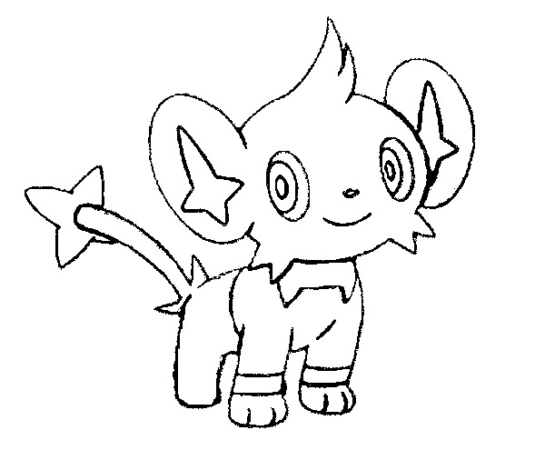pokemon luxio coloring pages - photo#9