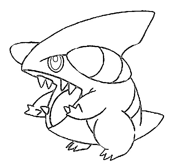 Free Coloring Pages Of Violeta Jorge Blanco Garchomp Coloring Pages