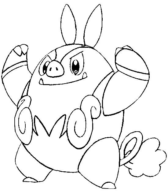 pokemon coloring pages samurott card photo19