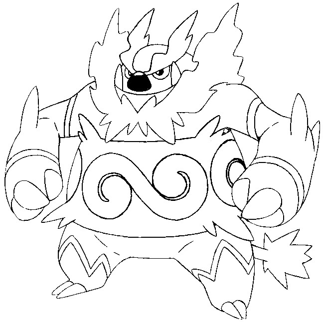 coloring pages pokemon zekrom x - photo#28