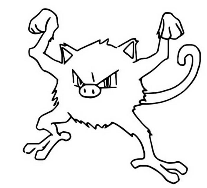 Coloriages pokemon ferosinge dessins pokemon - Pokemon ferosinge ...