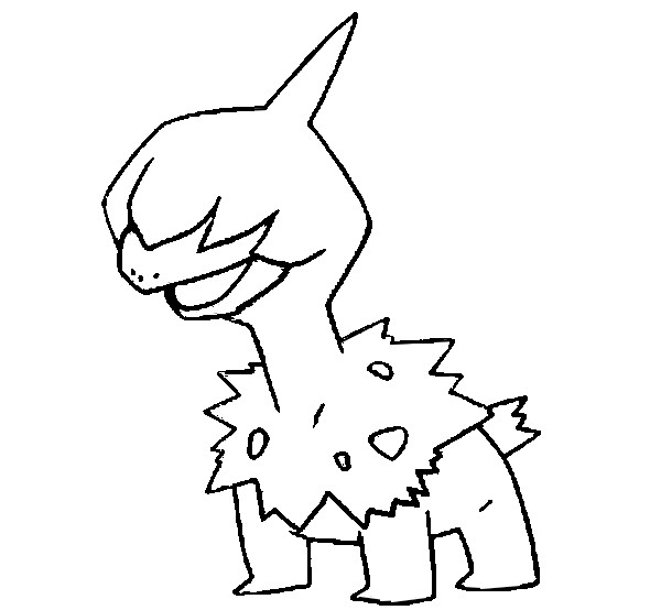 fraxure coloring pages - photo#10