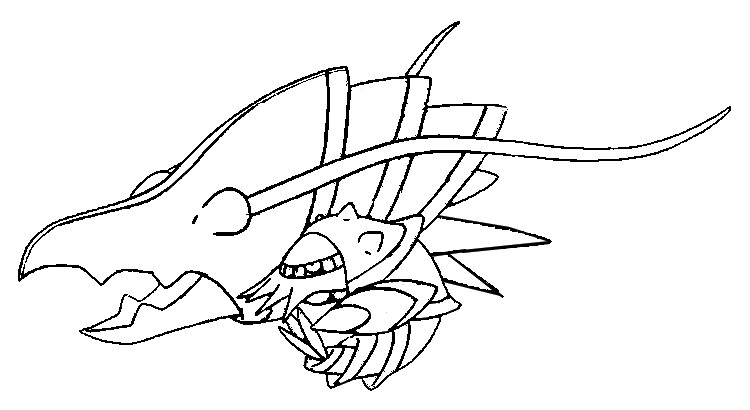 Coloriages Pokemon - Gamblast - Dessins Pokemon