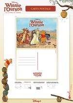 Jeu Carte Postale Winnie l'Ourson