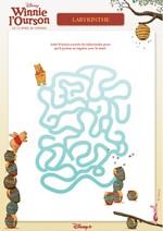 Jeu Labyrinthe Winnie