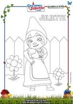 Jeu Coloriage Juliette