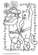 Jeu Coloriage Kitty et le Chat Potté