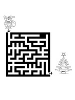 Jeu Noel Labyrinthes
