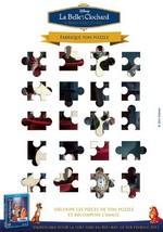 Jeu Puzzle: la Belle et le Clochard