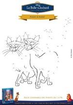 Jeu Points à relier: les chats siamois