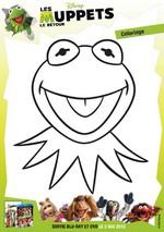 Jeu Coloriage Kermit du Muppet Show