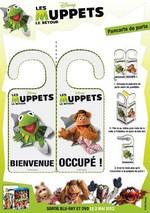 Jeu Pancarte de porte Muppets Show