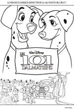 Jeu Coloriage 101 dalmatiens