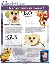 Jeu Des sandwichs de souris!