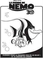 Jeu Le Monde de Nemo 3D