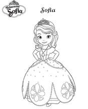 Jeu Coloriage Princesse Sofia