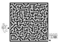 Jeu Paques labyrinthes