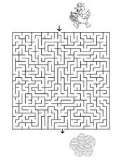 jeux a imprimer paques labyrinthes. Black Bedroom Furniture Sets. Home Design Ideas