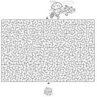 Jeux a imprimer paques labyrinthes - Jeu labyrinthe a imprimer ...