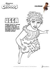 Jeu Coloriage Ugga