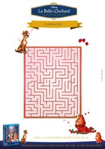 Jeu Labyrinthe Belle et le Clochard