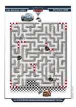 Jeu Labyrinthe Cars