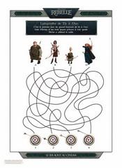 Jeu Labyrinthe Rebelle - Tir � l'arc