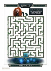 Jeu Labyrinthe Rebelle - La for�t
