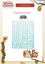 Jeu Labyrinthe Winnie l'ourson