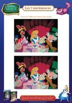 Jeu Trouve les différences Alice