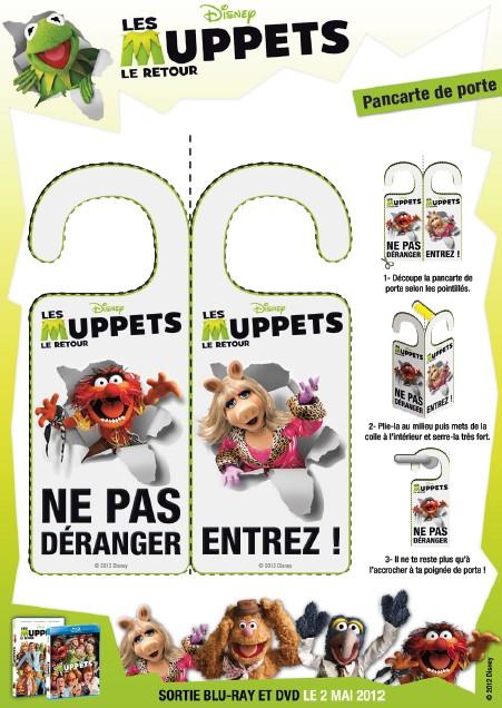 jeu imprimer panneauxdeporte pancarte de porte muppet show 9. Black Bedroom Furniture Sets. Home Design Ideas