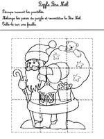 Jeu Puzzle Noël