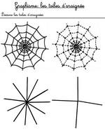 Jeu Dessine les toiles d'araignée