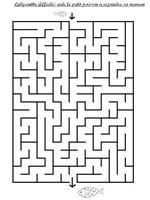 Jeu Labyrinthe difficile